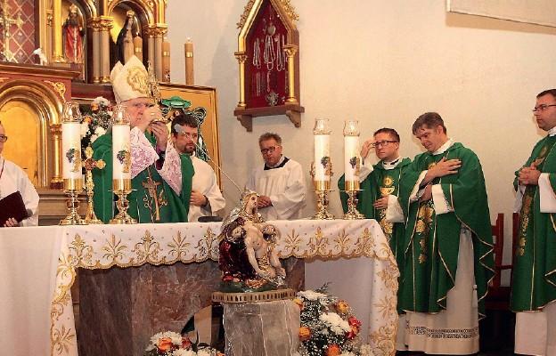 Instalacja relikwii św. Rity