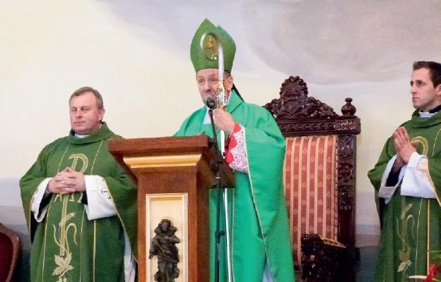 Eucharystii przewodniczył Pasterz diecezji