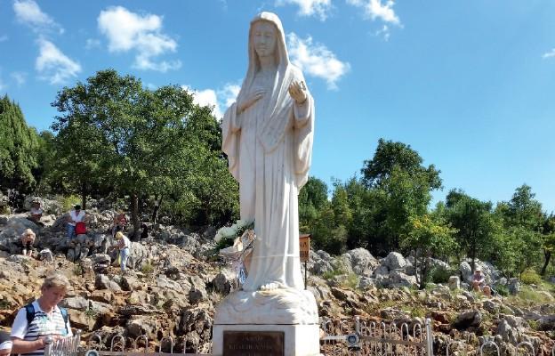 Figura Matki Bożej w Medjugorie