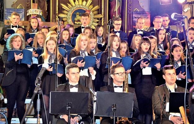 Koncert ku czci św. Cecylii w Górnie