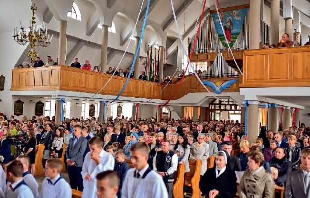 Jubileusz parafii Kramarzówka