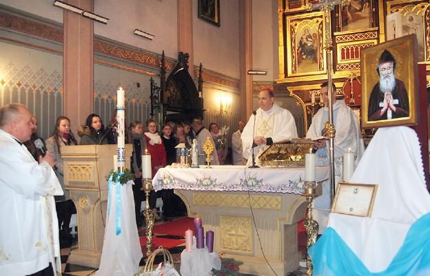 Święty z Libanu w Gołaczewach