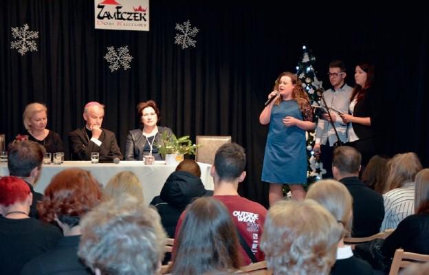 Z kielecką młodzieżą spotkał się bp Marian Florczyk