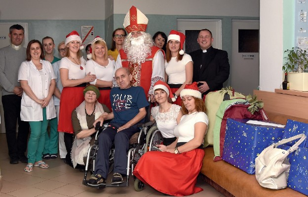 Anioły dobroci w Zakładzie Opiekuńczo-Leczniczym w Jaśle