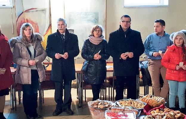 Spotkanie opłatkowe Domowego Kościoła