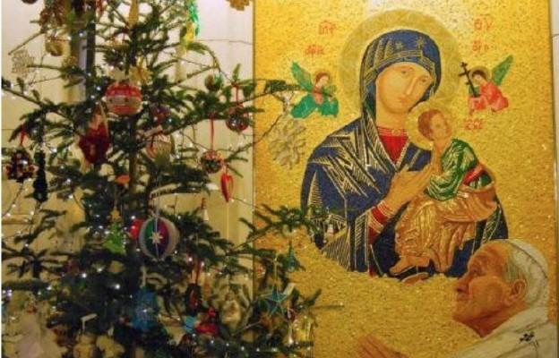 Ikona Matki Bożej Nieustającej Pomocy w sanktuarium św. Jana Pawła II na Białych Morzach