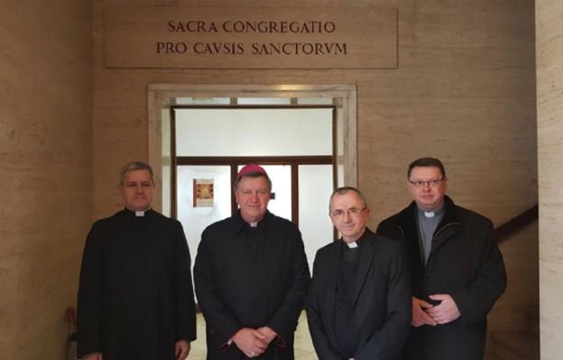 Wrocławska delegacja w Kongregacji Spraw Kanonizacyjnych