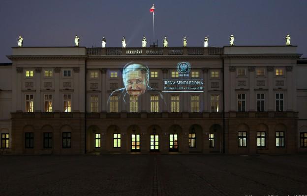Pałac Prezydencki rozświetliła okolicznościowa iluminacja