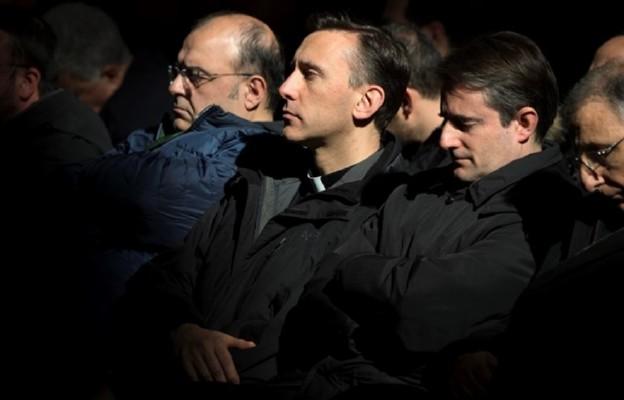 Spotkanie papieża z włoskimi księżmi