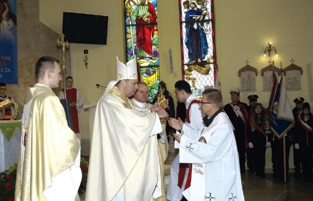 Wprowadzenie relikwii św. Siostry Faustyny
