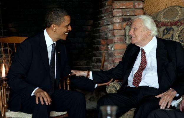 Barack Obama i Billy Graham