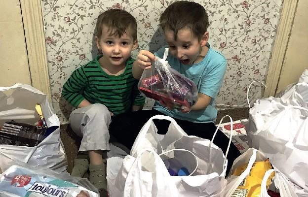 Torba charytatywna Caritas dla Ukrainy