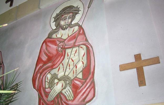 Artystyczna wizja Drogi Krzyżowej w oleszyckim kościele