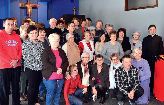 Uczestnicy rekolekcji w Zawichoście