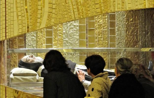 Franciszek pielgrzymuje śladami Ojca Pio