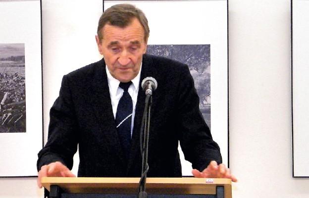 Prof. Wiesław Śladkowski rozpoczął cykl wykładów nt. niepodległości