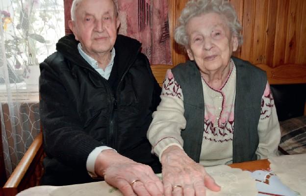 Henryka i Władysław Sochowie od 73 lat razem