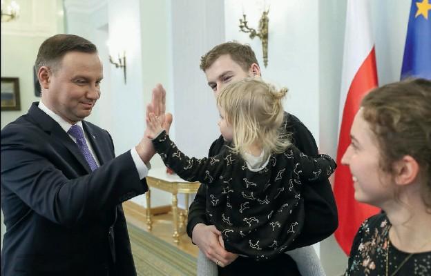 Prezydent RP doskonale dogaduje się z dziećmi