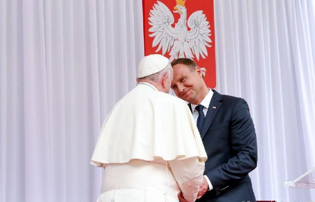 Spotkanie Prezydenta RP z Ojcem Świętym na Wawelu (lipiec 2016 r.)