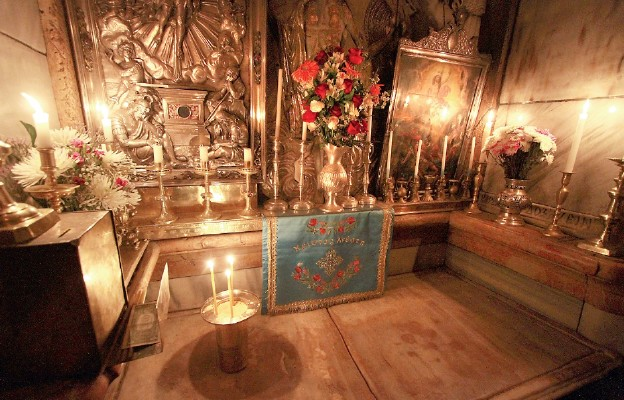 O Grobie Pańskim w Jerozolimie