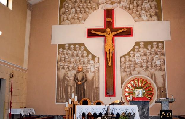 Męczennik z Dachau patronem parafii we Włoszczowie