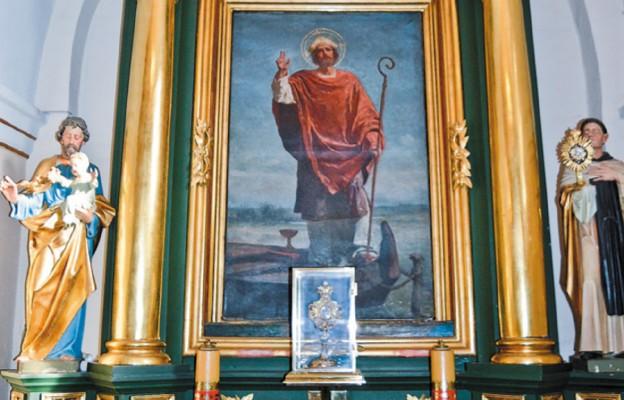 Św. Wojciech w późnoromańskim Kościelcu