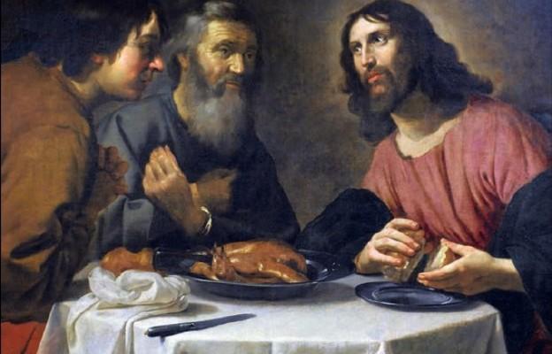 """""""Wieczerza w Emaus"""" – szkoła włoska (XVII wiek)"""