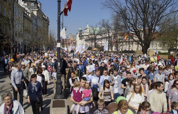 W Niedzielę na ulice polskich miast wyjdą Marsze Świętości Życia, które są publiczną manifestacją Polaków po dobrej stronie życia publicznego