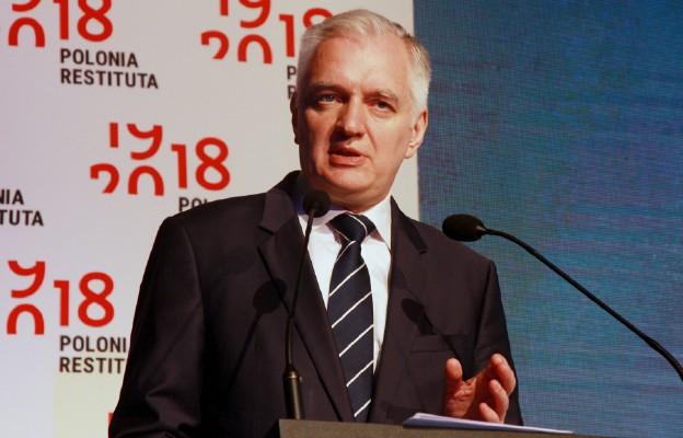 Premier Morawiecki podpisał i skierował do prezydenta dymisję wicepremiera Gowina