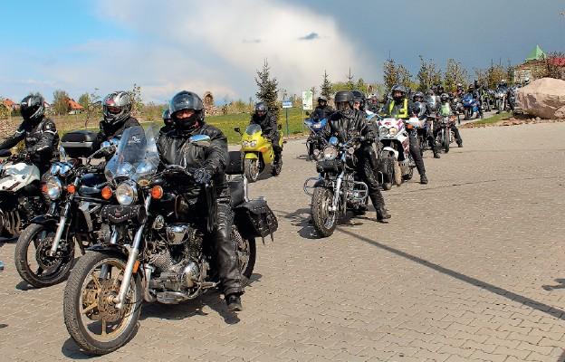 Motocykliści chcą być razem