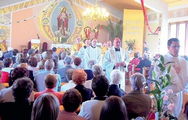 35-lecie kaplicy w Dzięgielowie