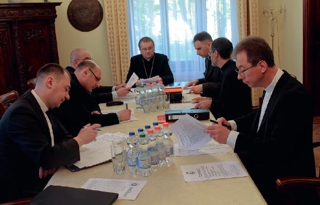 Celem spotkania było ustalenie składu personalnego poszczególnych synodalnych Komisji tematycznych