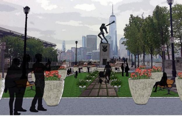 Wizualizacja  udostępniona przez burmistrza Stevene Fulopa