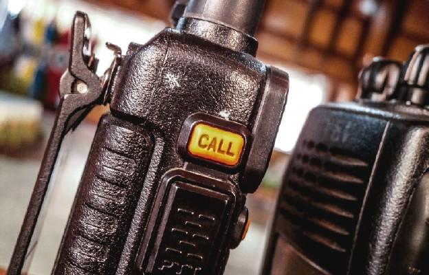"""Ojciec """"walkie-talkie"""""""