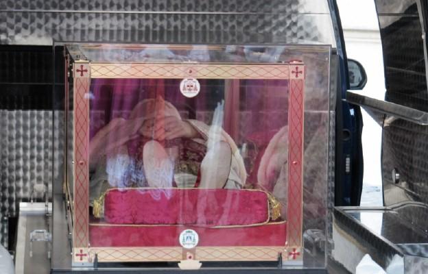 Peregrynacja ciała Jana XXIII