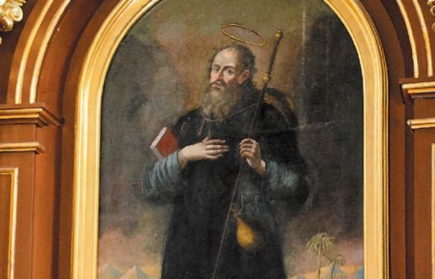 Z herbem św. Jakuba Starszego