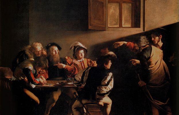 Powołanie św. Mateusza, Caravaggio