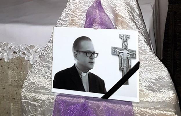 Śp. ksiądz Marek Łuczak