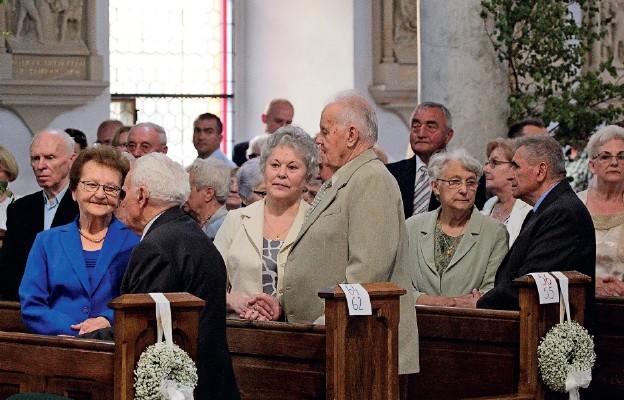 Msza św. z okazji jubileuszy małżeńskich
