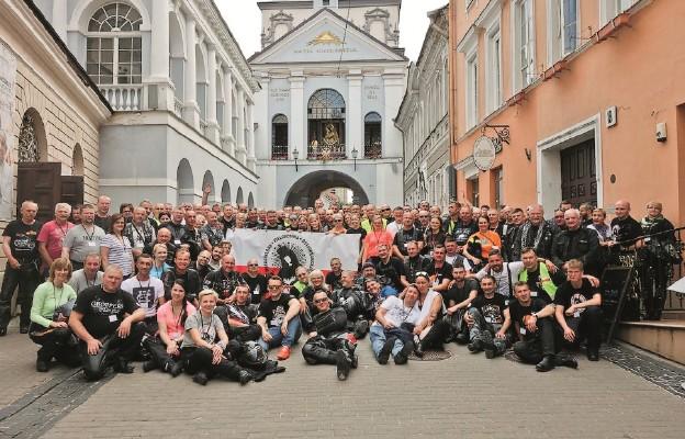 Motocyklem do Wilna