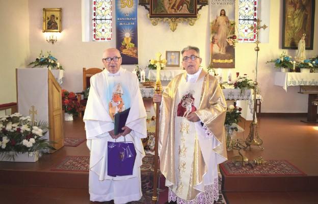 Złote jubileusze kapłaństwa w Żukowie