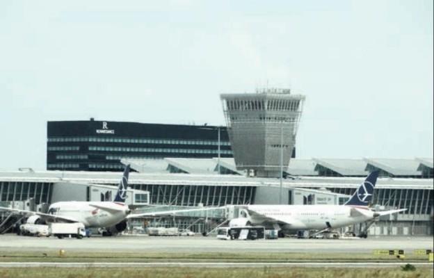 Na Lotnisku Chopina w Warszawie