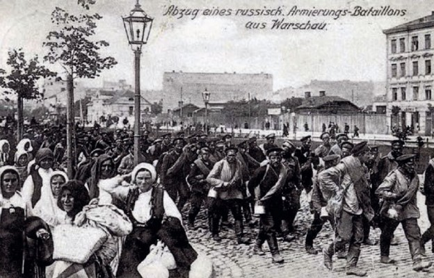 Jak Niemcy zastąpili Rosjan