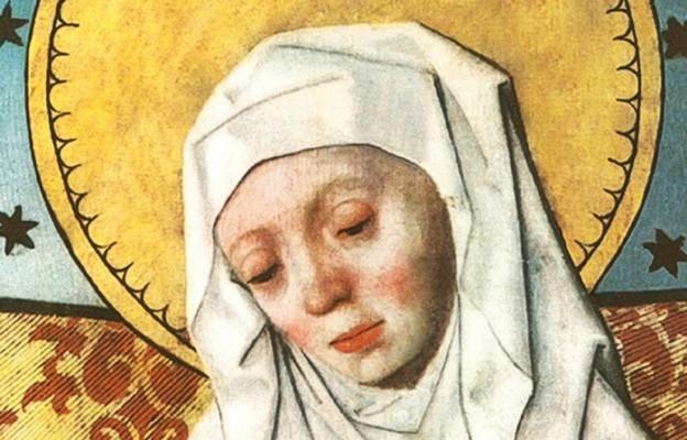 Św. Brygida szwedzka tęskniąca do Jezusa