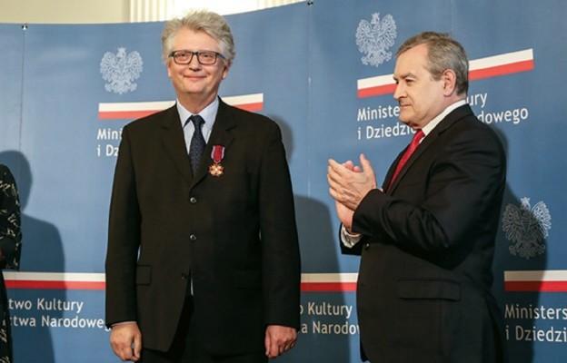 Piotr Iwicki kawalerem Złotego Krzyża Zasługi
