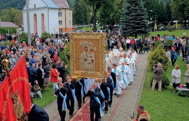 50 lat Sanktuarium Matki Bożej Bieszczadzkiej