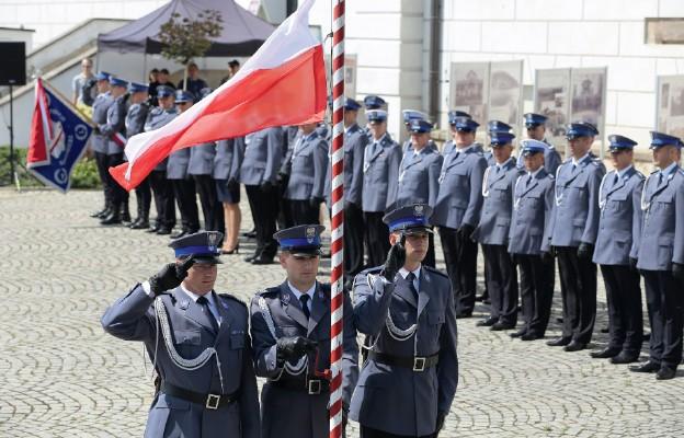 Policjanci świętują