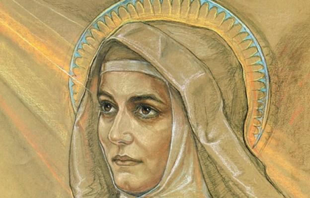 Św. Teresa Benedykta od Krzyża – obraz wykonany według jej ostatniego zdjęcia