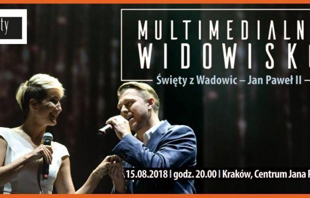 Kraków: widowisko multimedialne