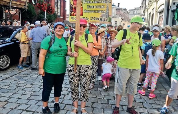 Wałbrzyska grupa na pielgrzymim szlaku